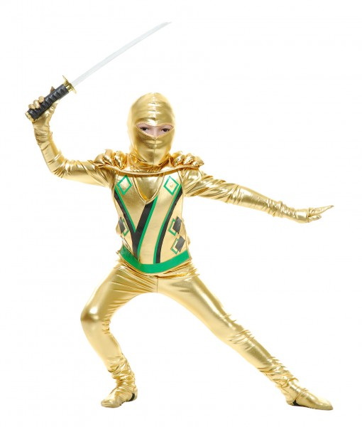 Toddler Gold Ninja Avengers Series III Costume  sc 1 st  Halloween Costumes & Toddler Gold Ninja Avengers Series III Costume - Halloween Costume ...