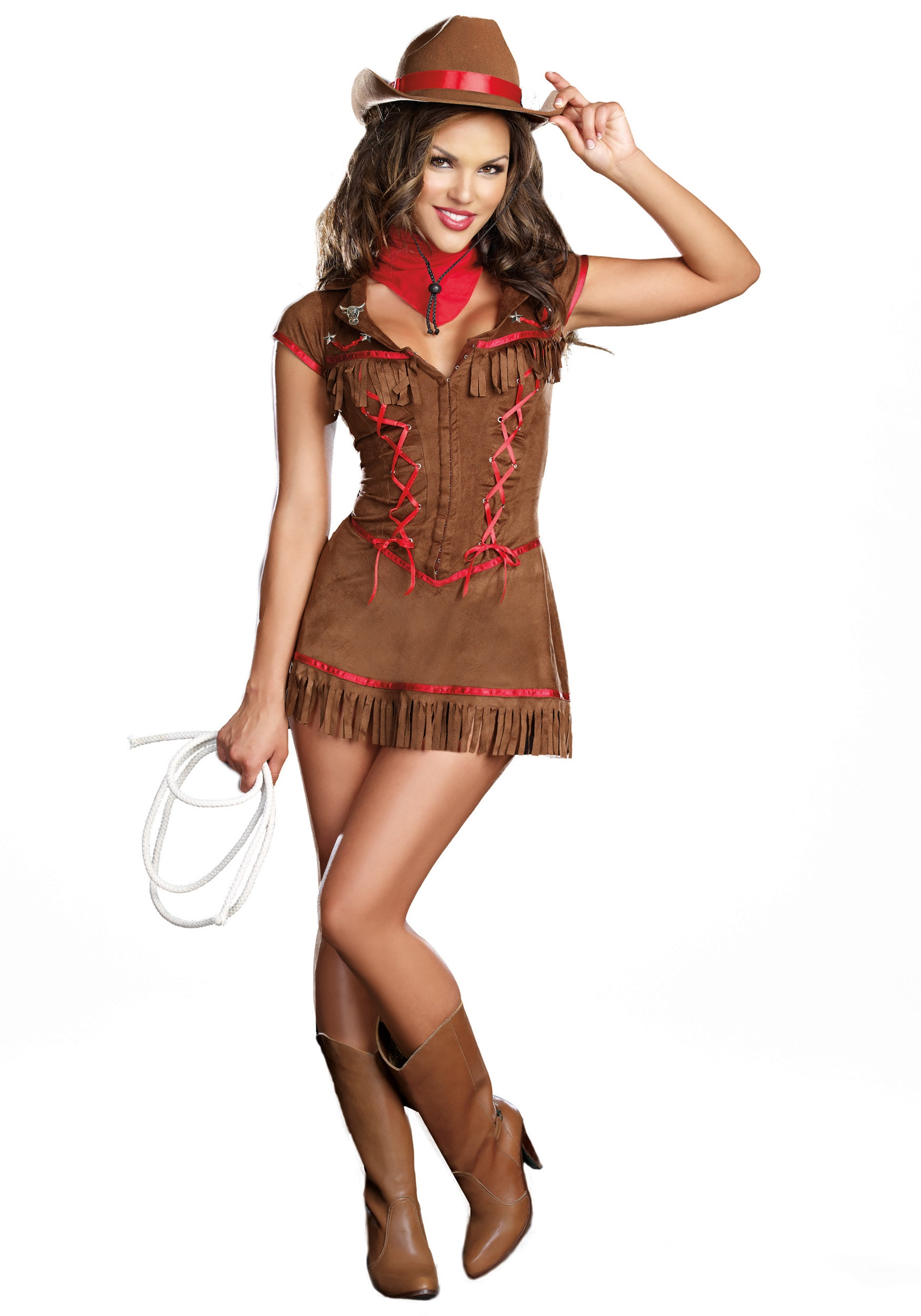 Sexy lingerie for women: The Hottest cowgirl on the ranch costume