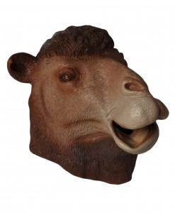 Deluxe Latex Camel Mask