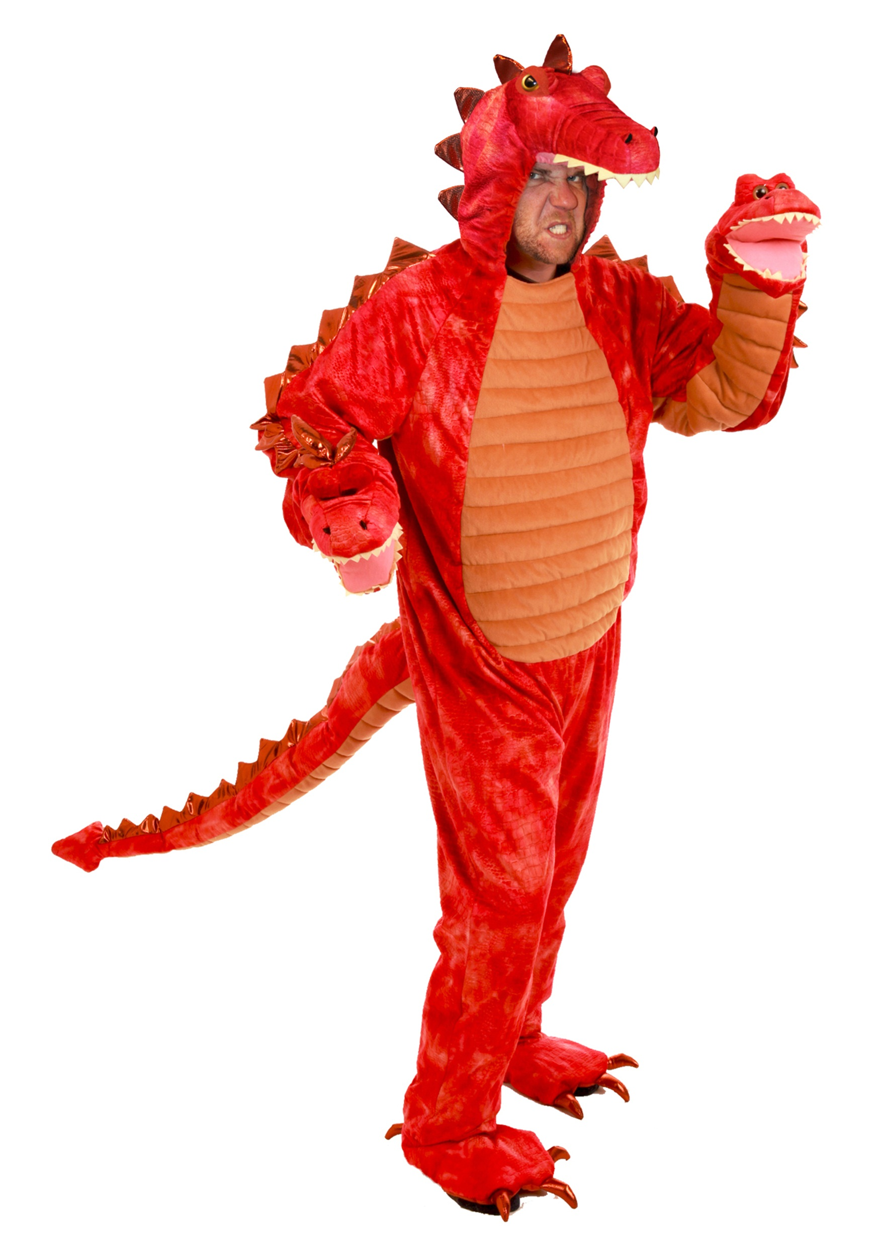 Adult Hydra Red Dragon Costume Halloween Costume Ideas 2019