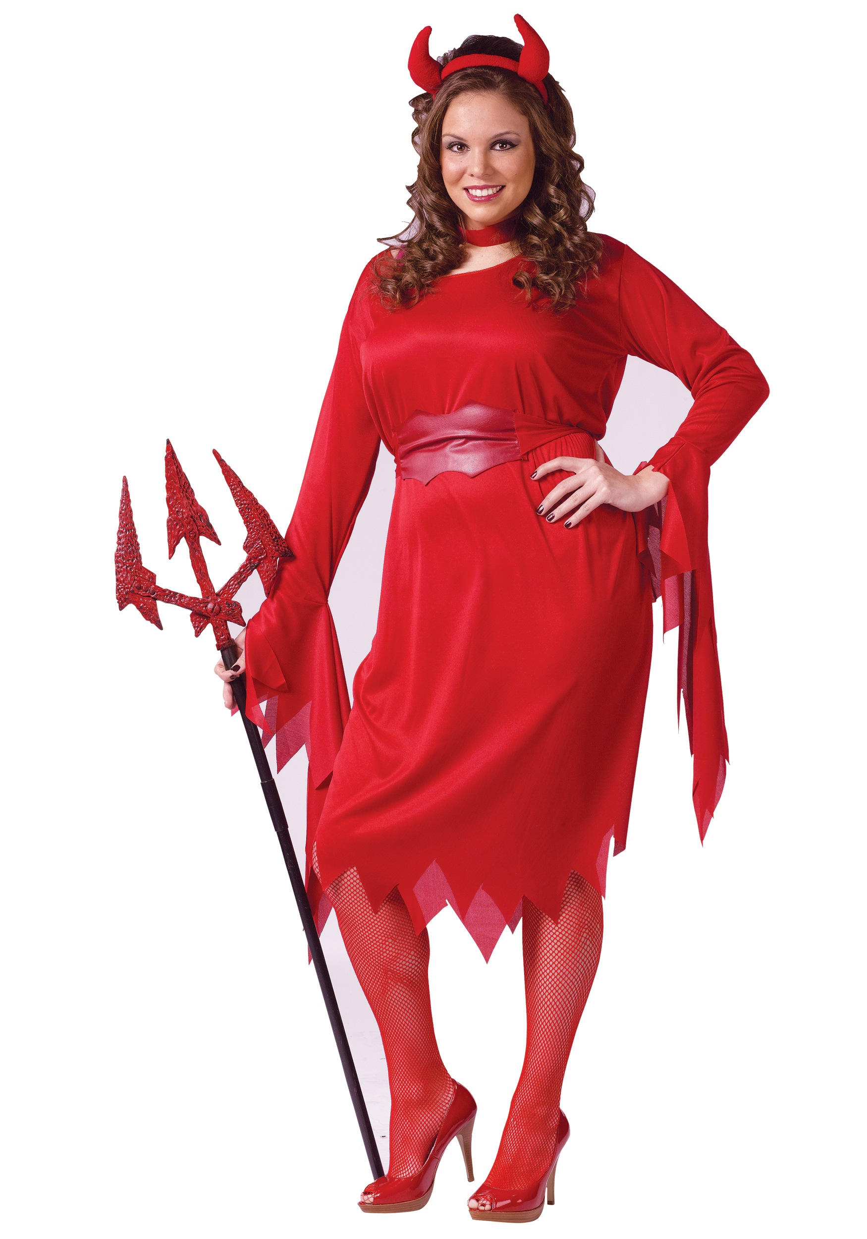plus size sexy devil costume