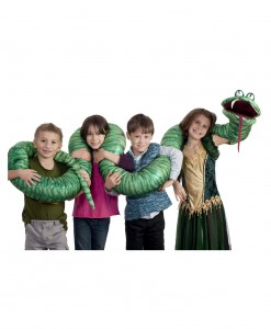 Big Green Snake Arm Puppet
