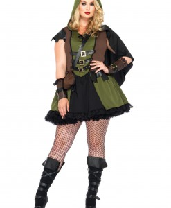 Darling Robin Hood Plus Size Costume