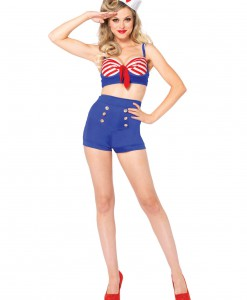 Sexy On Deck Darling Sailor Costume