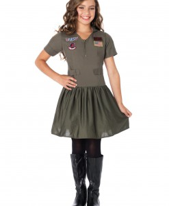 Top Gun Girls Flight Dress