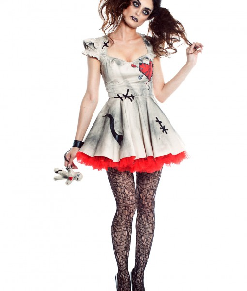 Halloween Costumes Ideas For Women.Womens Voodoo Doll Costume