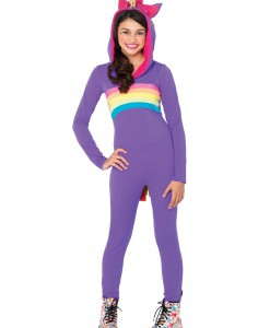 Tween Rainbow Unicorn Costume