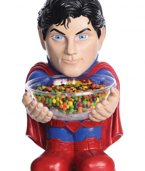 Superman Candy Bowl Holder