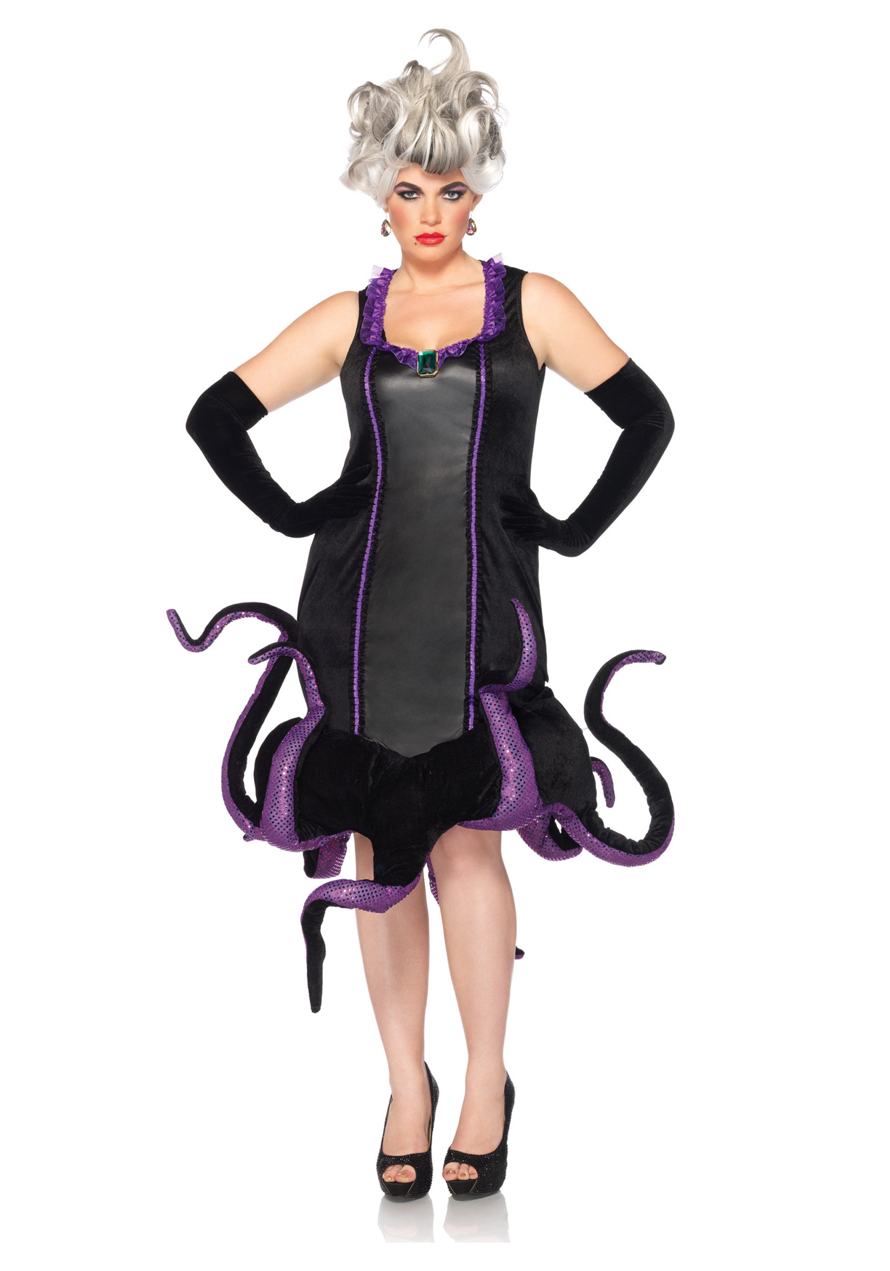 sc 1 st  Halloween Costumes & Womens Disney Plus Ursula Costume - Halloween Costume Ideas 2018