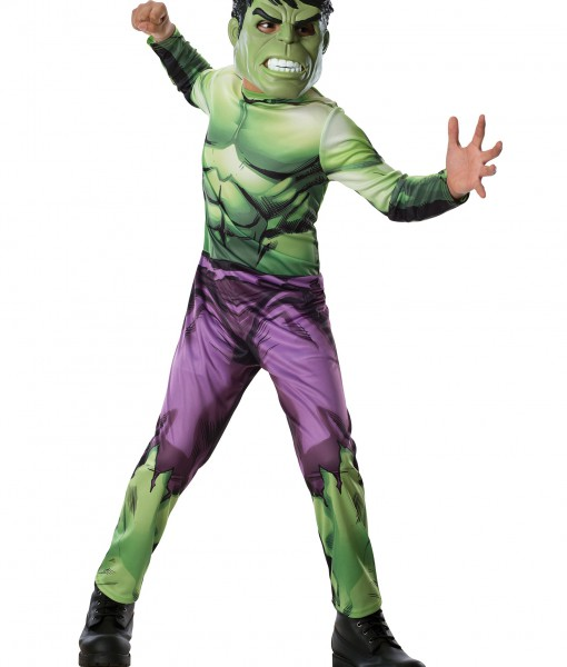 Child Classic The Hulk Costume