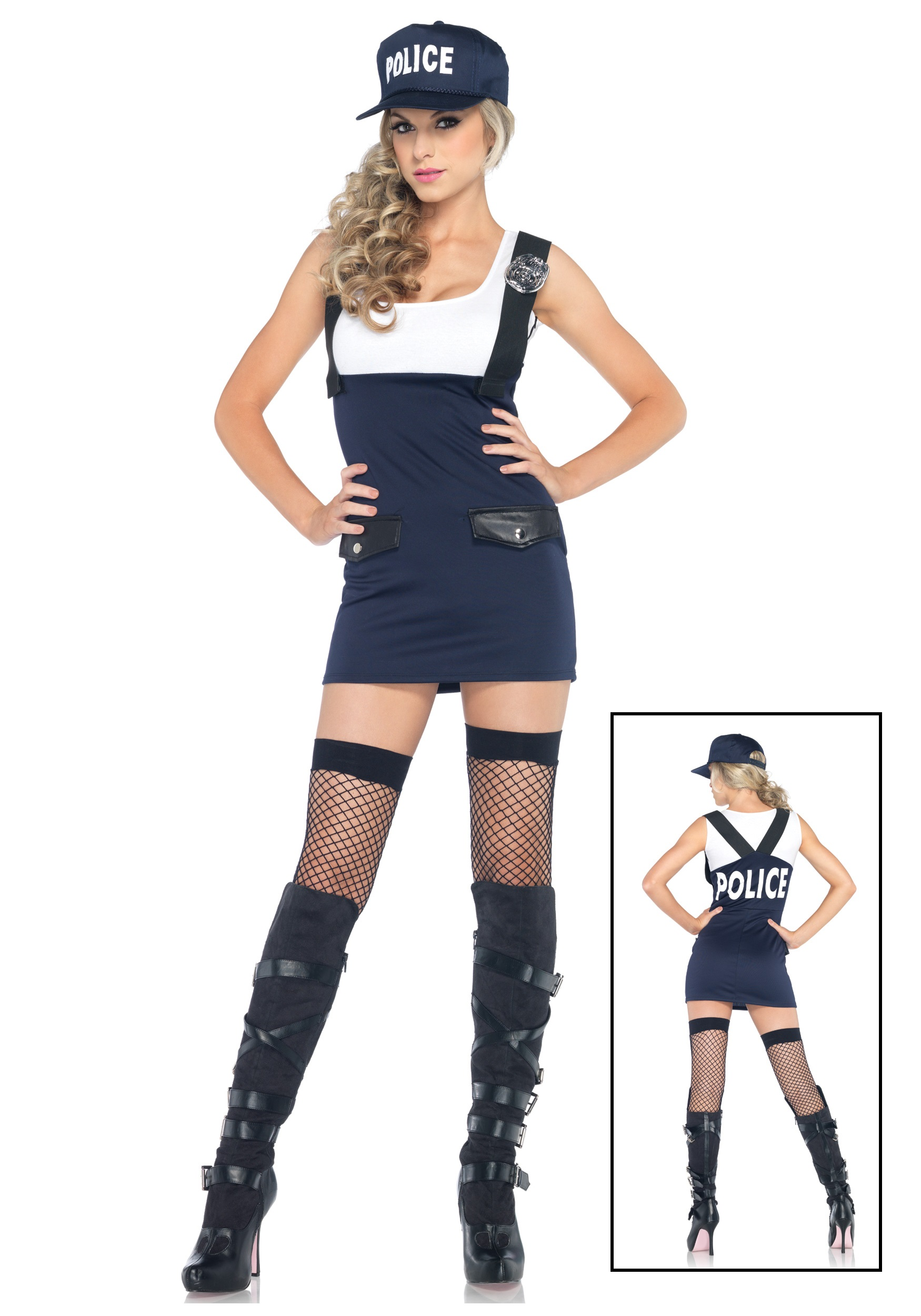 Bad Cop Police Girl Costume - Halloween Costume Ideas 2016