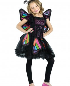 Child Rainbow Butterfly Costume