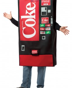 Coca-Cola Vending Machine Costume