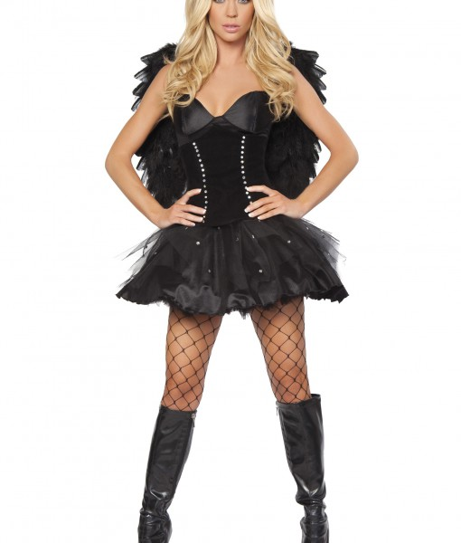 Devilish Dark Angel Costume