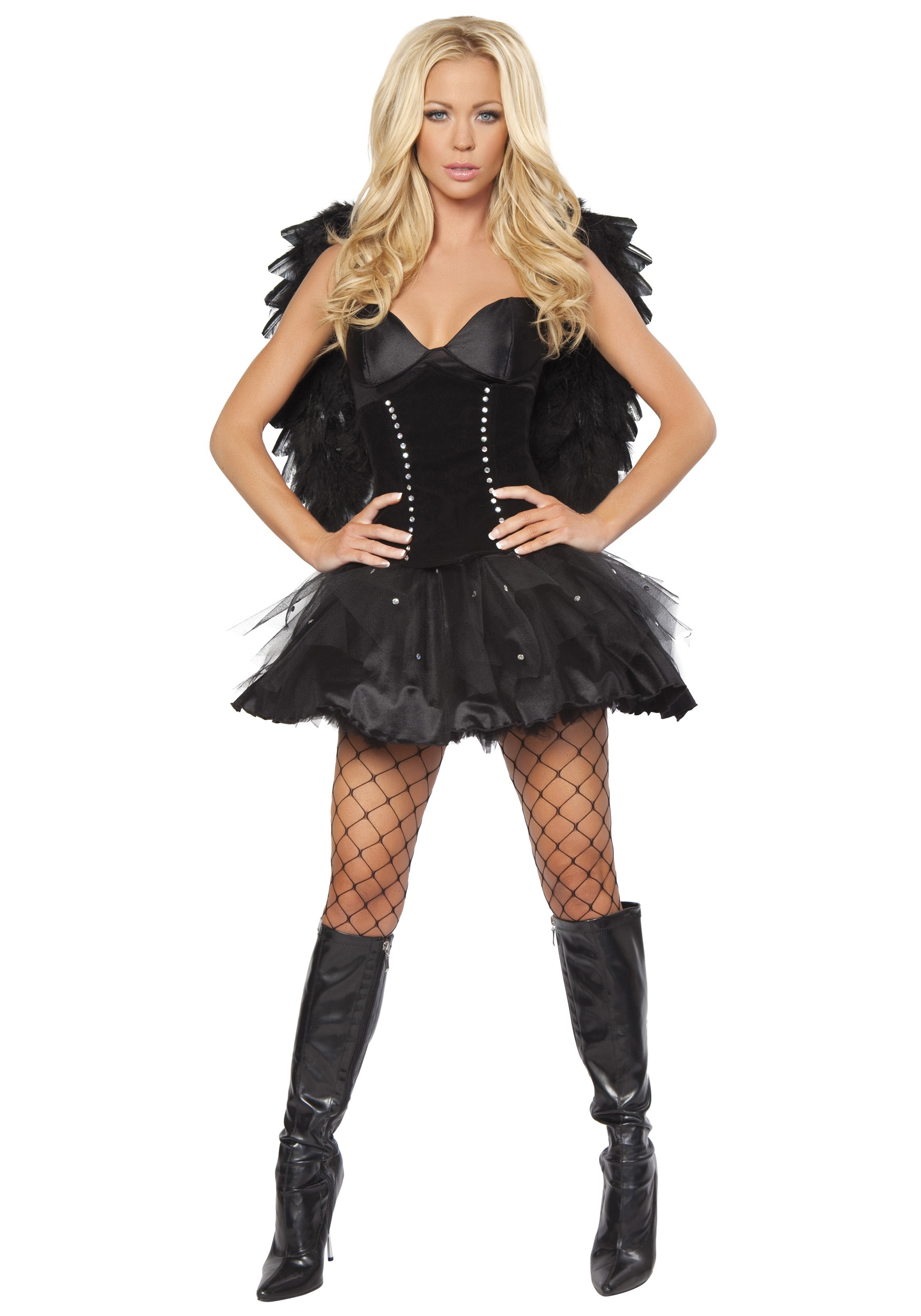 devilish dark angel costume halloween costume ideas 2016. Black Bedroom Furniture Sets. Home Design Ideas
