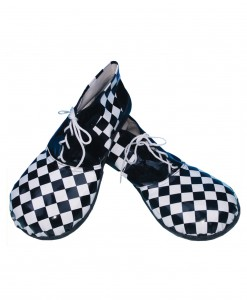 Checkered Clown Shoes