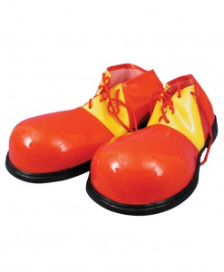 Red and Yellow Clown Shoes