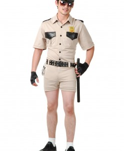 Plus Size Reno Cop Costume