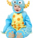 Infant/Toddler Blue Mini Monster Costume