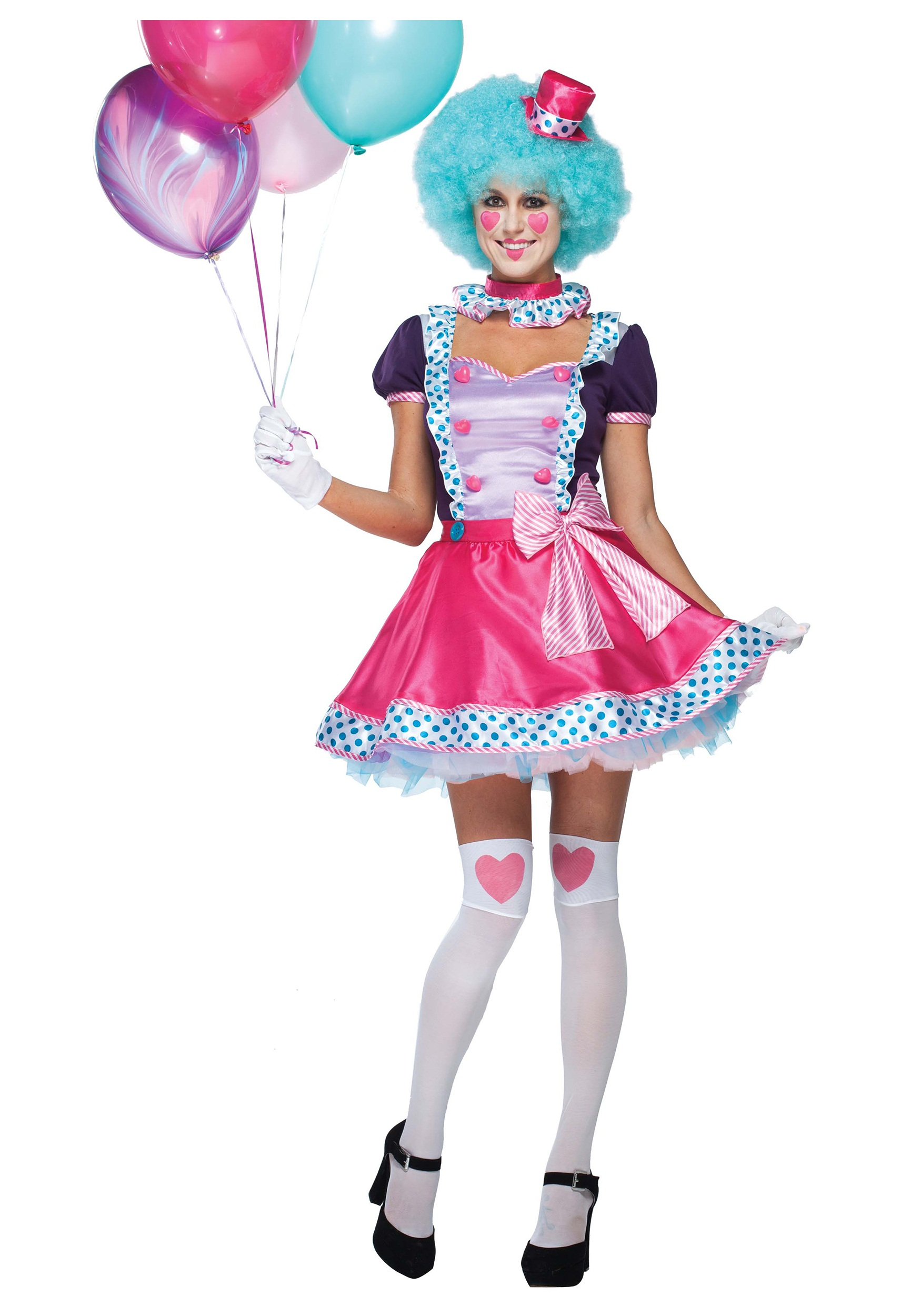 Cute Clown Costumes Tweens