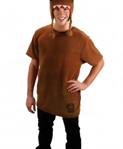 Brown Domo Costume