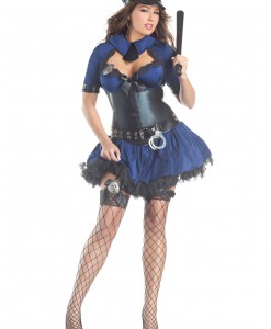 Plus Size Sultry Officer Costume