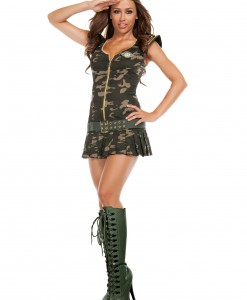 Womens Dreamy Sergeant Costume