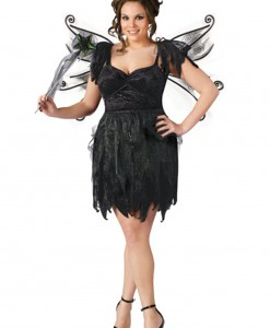 Plus Size Midnight Fairy Costume