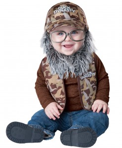 Duck Dynasty Infant Uncle Si Costume