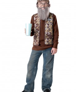 Uncle Si Child Costume