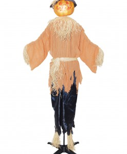 Standing Animated Pumpking Scarecrow