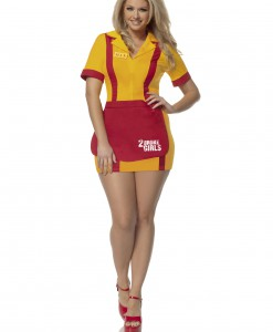 Plus Size 2 Broke Girls Waitress Costume