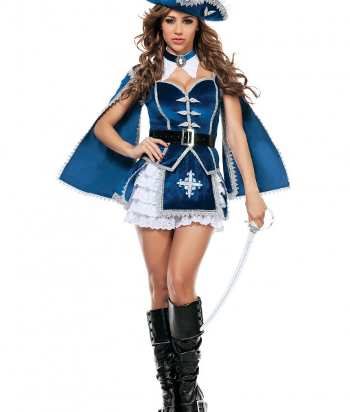 Womens All For You Musketeer Costume
