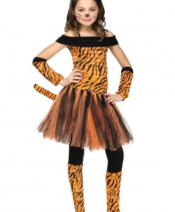 Girls Tigress Costume