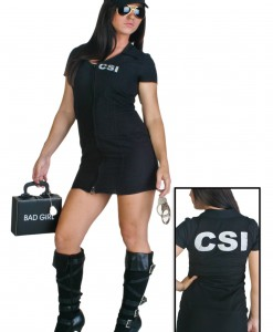 Women's Sexy CSI Costume