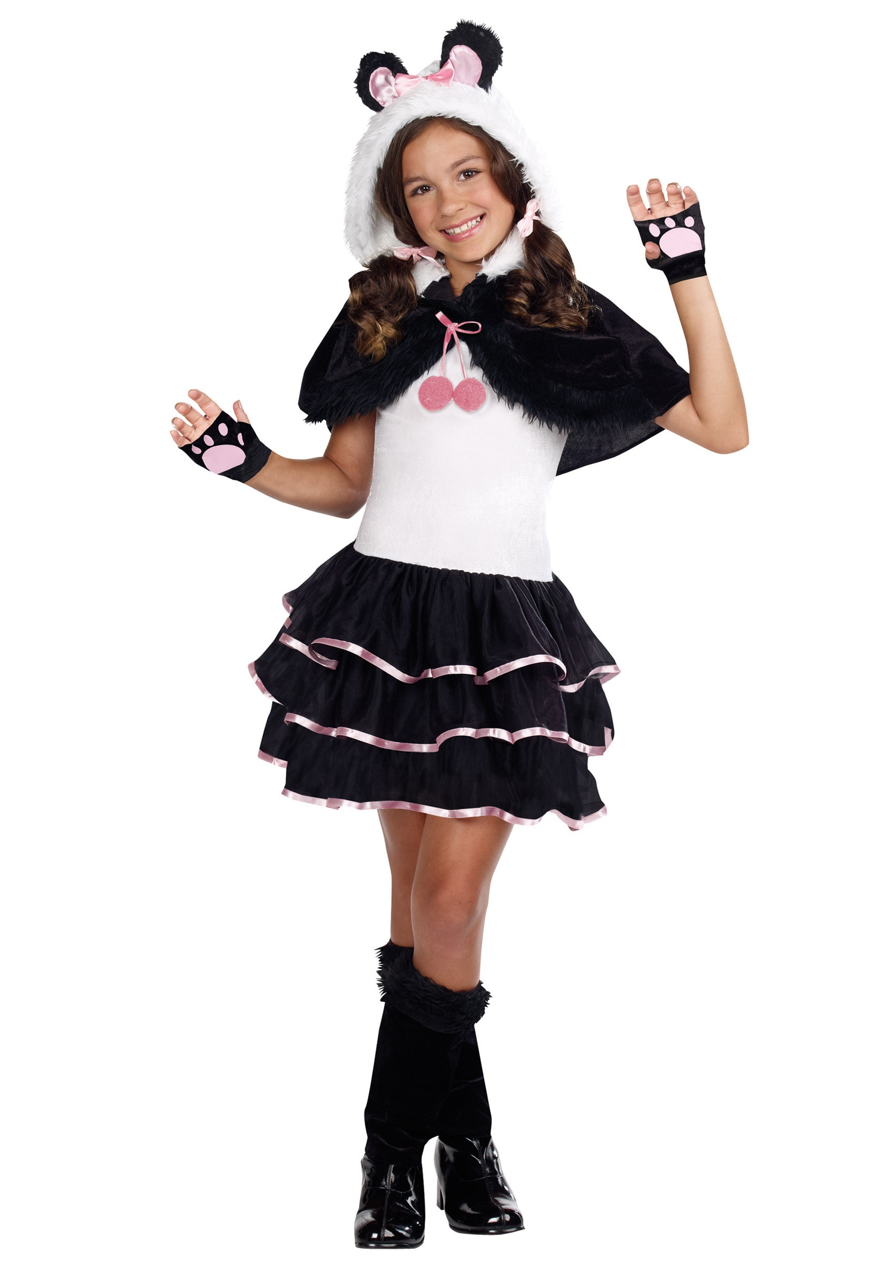 Precious Liu0027l Panda Costume  sc 1 st  Halloween Costumes : cat costumes for adults  - Germanpascual.Com