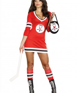 Sexy Puck U Hockey Costume