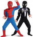 Child Reversible Muscle Chest Spiderman Costume