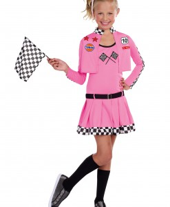 Girls Sweet Racer Costume