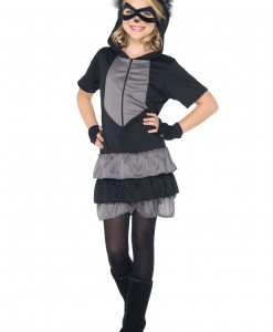 Girls Rascal Raccoon Costume