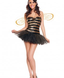 Sexy Sequins Bee Costume
