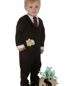 Toddler Gangster Costume
