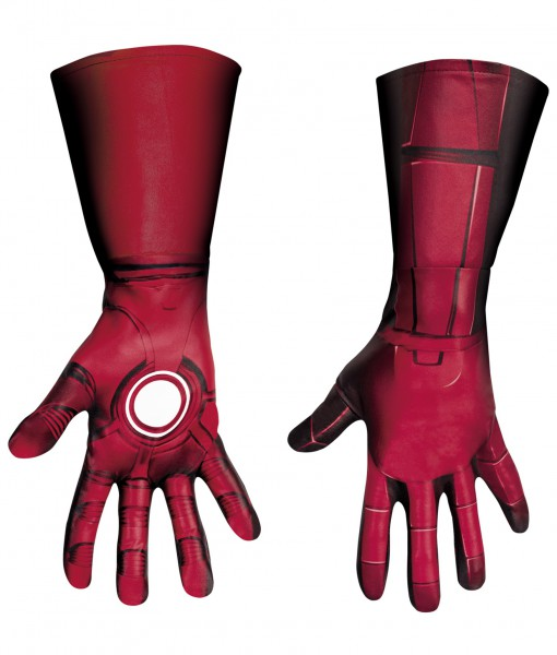 Adult Deluxe Iron Man Mark VII Gloves