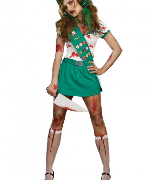 Ghoul Scout Zombie Costume