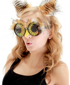 Owl Ears and Glasses