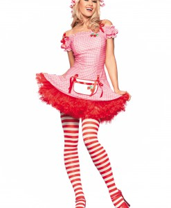 Sexy Strawberry Dessert Costume