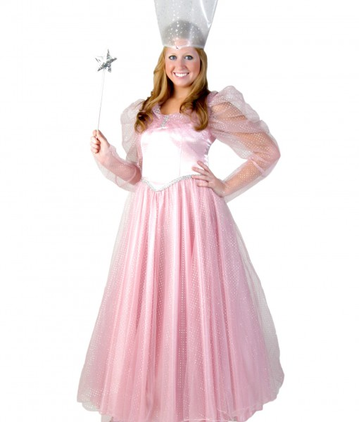 Deluxe Plus Size Pink Witch Costume