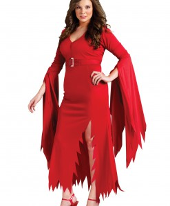 Plus Gothic Devil Costume