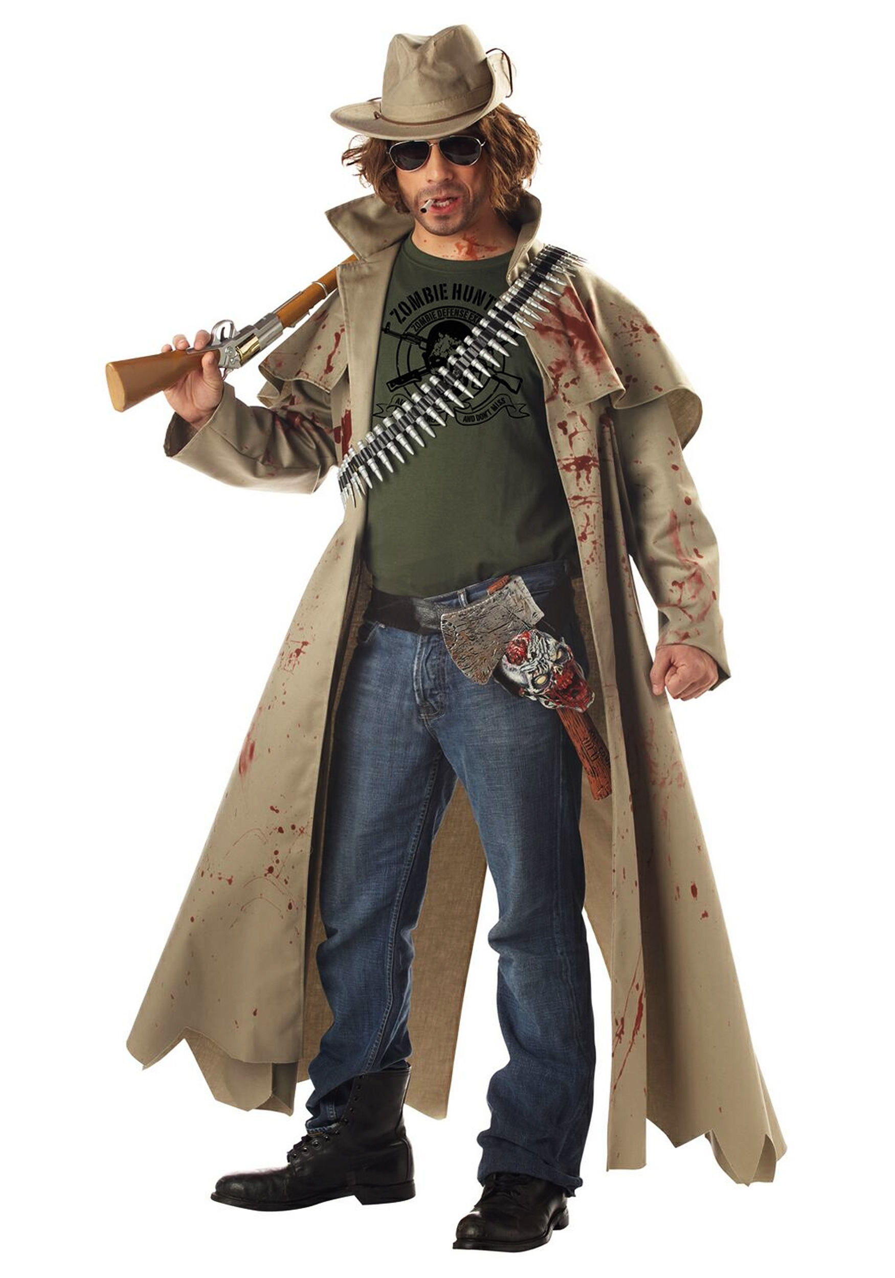 zombie hunter costume - halloween costume ideas 2018