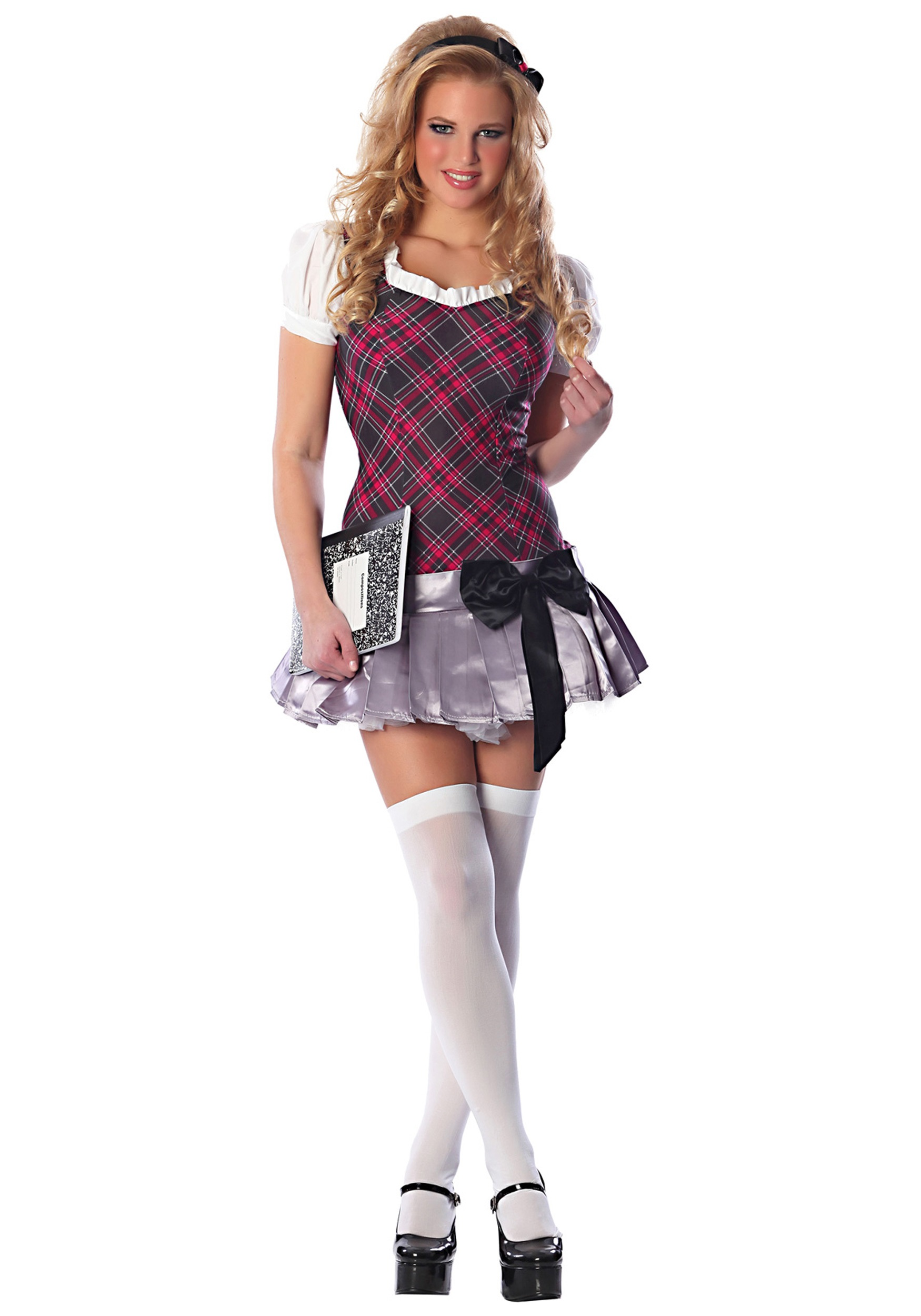 Sexy Collegiate School Girl Costume  sc 1 st  Halloween Costumes : halloween girls costume  - Germanpascual.Com